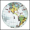 The Animal Inflatable Globe